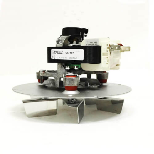 Ανεμιστήρας απαγωγής καυσαερίων 39 Watt για σόμπες πελλετ